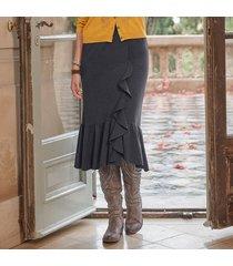 elegant ruffle skirt