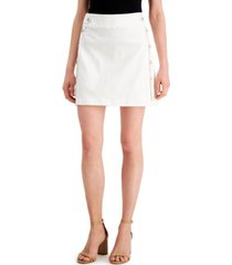 inc mini denim sailor skirt, created for macy's
