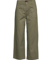 wide leg wijde jeans groen lee jeans