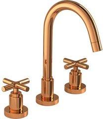 misturador para banheiro mesa duna clássica red gold - 1877.gl64.rd - deca - deca