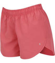 shorts oxer básico run - feminino - coral