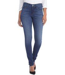 faded five-pocket legging jeans
