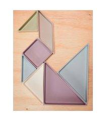 amaro feminino planck petisqueira tangram, multi colorido