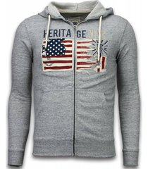 enos casual vest embroidery american heritage