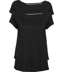 mixed sets t-shirts & tops short-sleeved svart esprit casual