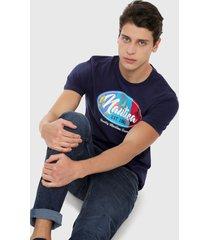 camiseta azul náutica