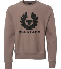 belstaff holmswood sweatshirt - dusty orchid 71130467-713