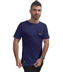 camiseta cellos box logo premium azul marinho - azul marinho - masculino - dafiti