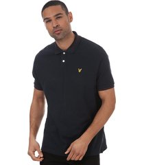 mens branded ringer polo shirt