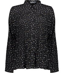 plisse blouse nop