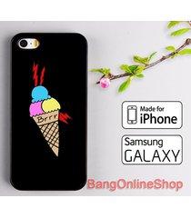 ice cream brr gucci mane iphone 7 7+ 6 6s 6+ 6s+ 5 5s 5c se samsung s8 s8+ case