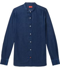 isaia denim shirts