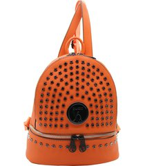 mochila naranja buda