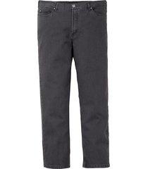 jeans men plus grijs