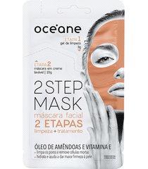 máscara facial 2 step amêndoa 13g - océane único