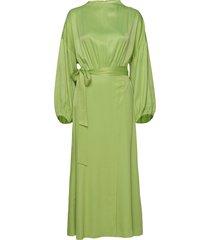 indio maxiklänning festklänning grön rodebjer