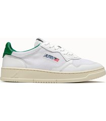 sneakers autry 01 low colore bianco verde