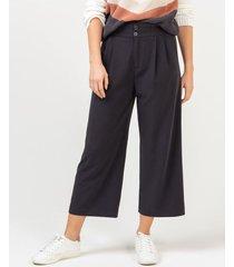 pantalón culotte pretina elástica