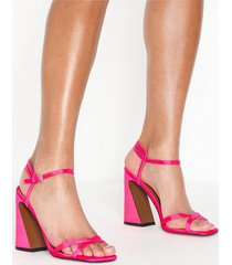 topshop redemption pink sandals high heel