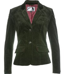 blazer in velluto (verde) - bpc selection