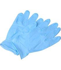 100pcs un grado desechable guantes de nitrilo azul protectora de inspección de 9 pulg.