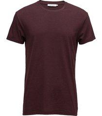 kronos o-n ss 273 t-shirts short-sleeved röd samsøe samsøe