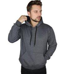blusa de moletom capuz bolso canguru masculina