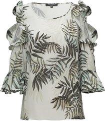 blouse blouse lange mouwen groen ilse jacobsen