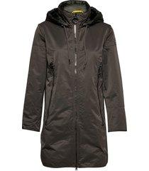 jacket wadding dunne lange jas groen betty barclay