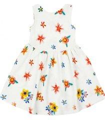 vestido be yourself blanco ficcus
