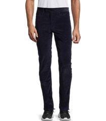 greyson men's apaloosa corduroy trousers - charcoal - size 33 32