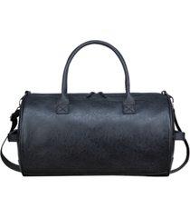 px men's vegan leather duffle bag