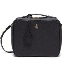 'madison' mini leather crossbody bag