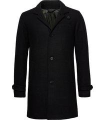 jprblamelton wool coat sts wollen jas lange jas zwart jack & j s