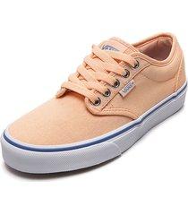 tenis skateboarding coral-blancas vans atwood