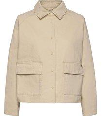 chore coat zomerjas dunne jas beige superdry