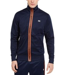 g-star raw men's slim-fit logo placket track jacket, created for macy's