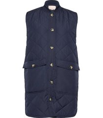 sreileen quilt vest vests padded vests blauw soft rebels