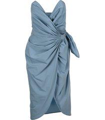 martin margiela bustier dress