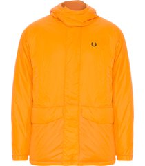 jaqueta masculina quilted parka - amarelo