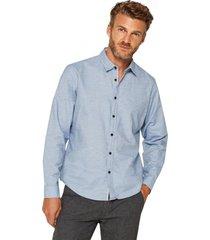 camisa algodón celeste esprit