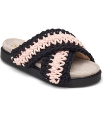 slipper woven shoes summer shoes flat sandals multi/mönstrad inuikii
