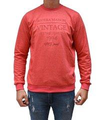 buzo rojo vinson vintage