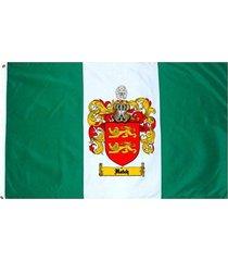 hatch coat of arms flag / family crest flag