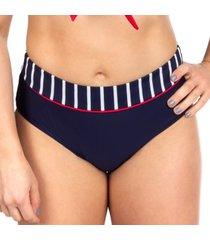 trofe navy stripe bikini brief * gratis verzending *
