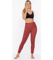 exterior legging rojo leonisa 012910