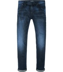 donkerblauwe heren jeans scotch & soda - 141188 l32