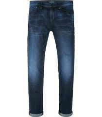 donkerblauwe heren jeans scotch & soda - 141188 l32