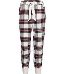 anf womens intimates & sleep pyjamasbyxor mjukisbyxor röd abercrombie & fitch