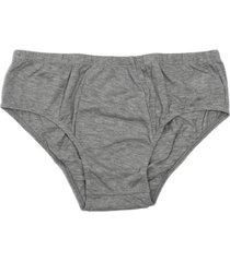 pantaloncillo clásico gris santana
